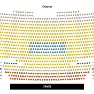Corson Seating Chart