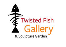 Twisted Fish Gallery and Sculpture Garden Logo
