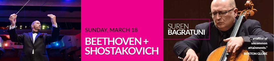Mar 2018 – Beethoven + Shostakovich