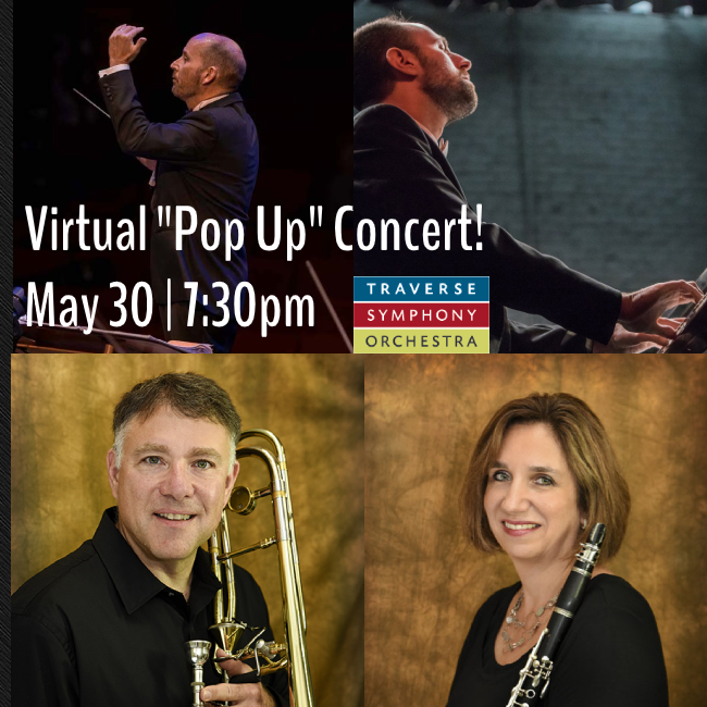 "Virtual ""Pop Up"" Concert"